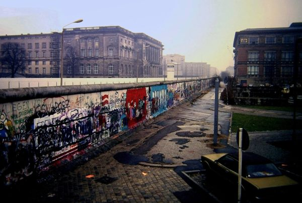 Muro di Berlino - Niederkirchnerstraße 1988