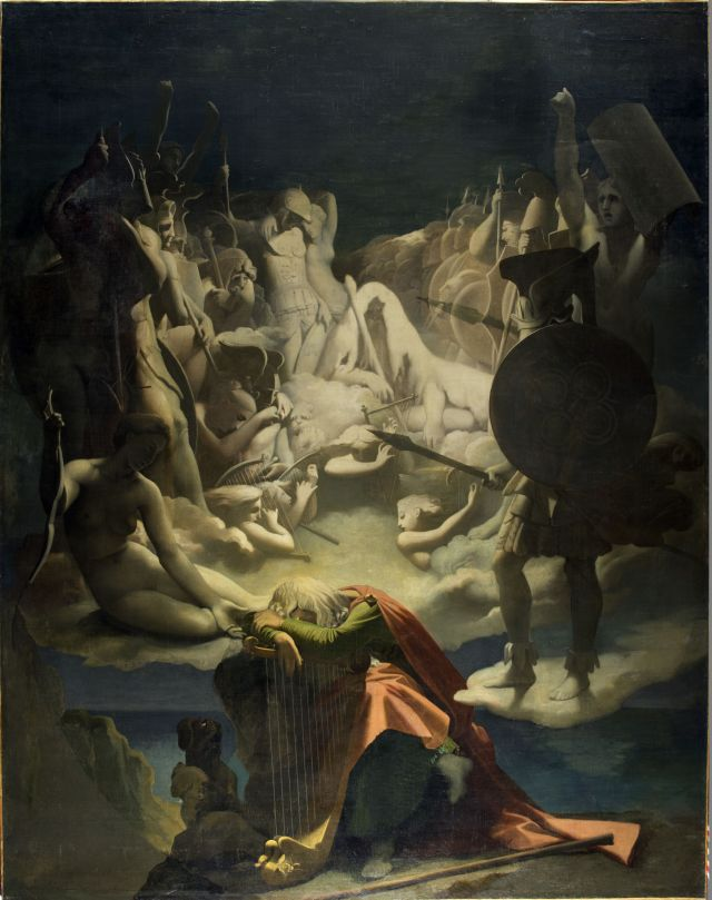 Ingres, Il sogno di Ossian (1813, Musée Ingres, Montauban)
