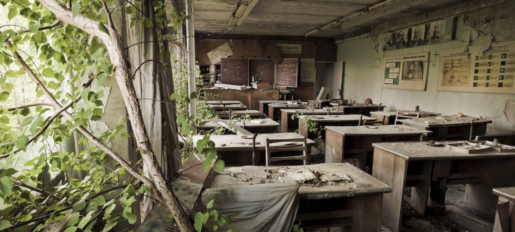 Chernobyl nelle fotografie di Gerd Ludwig