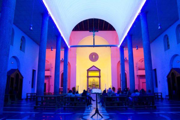 Chiesa Rossa di Dan Flavin