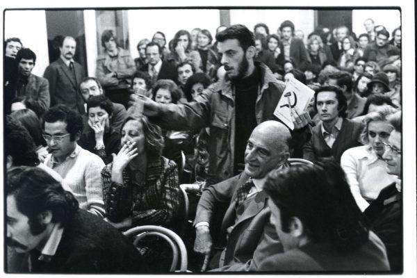 Enzo Mari - Falce e martello - Dibattito (ph Alberto Gnesutta)