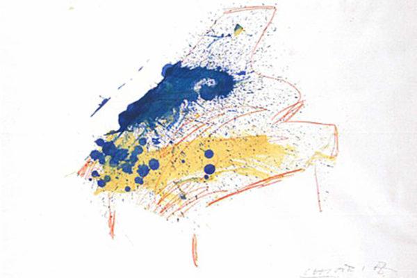 Giuseppe Chiari - Senza titolo (pianoforte)