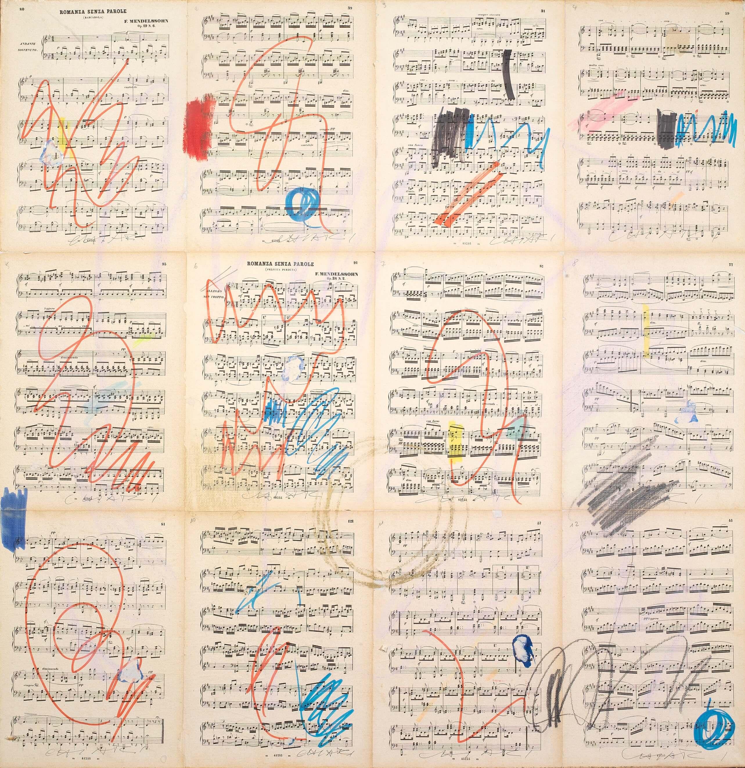 """Giuseppe Chiari e la musica per un'arte viva: la mostra """"Suono, Parola, Azione"""""""