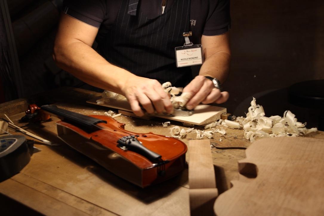 Gli strumenti musicali antichi Monzino al Castello Sforzesco di Milano
