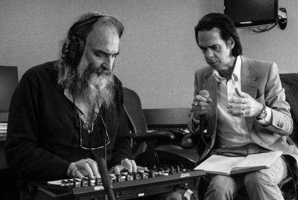 Warren Ellis e Nick Cave, foto di Joel Ryan